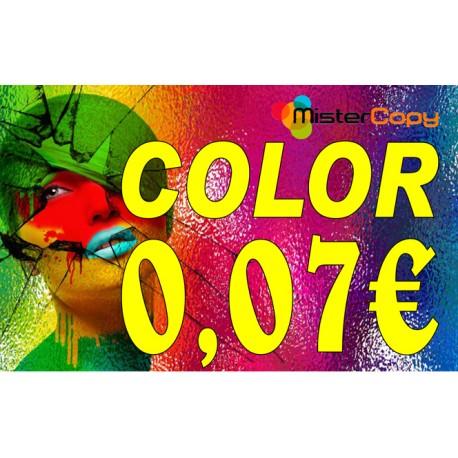 Impresiones en color