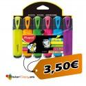 Subrayadores Fluorescentes (Pack 6 und)