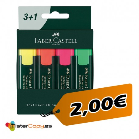 Subrayador Faber Castell (Pack)