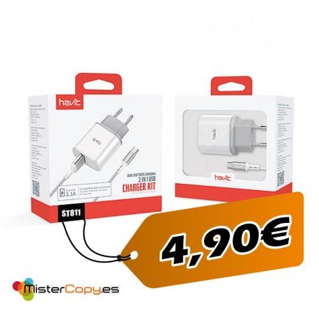 Cargador Micro USB / Tipo C