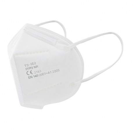 Mascarilla FFP2 Color Blanco (Pack 10 und)